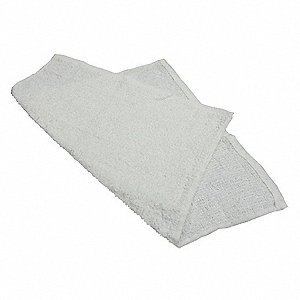 Bar Mop Towel,Terry,Cotton,PK12