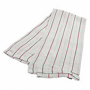 Glass Towel, Lint Free, Cotton, PK12