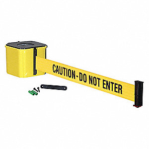 Wall Barrier, 20ft -CAUTION DO NOT ENTER
