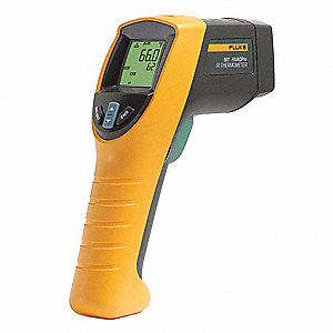 Class II Laser Infrared Thermometer, -40° to 1022°F, Calibration Certificate: NIST