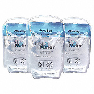 1.5 gal. Drinking Water Container Laminate Plastic, 200 PK