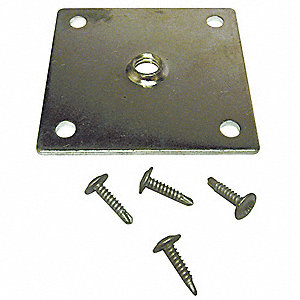 Castor or Leg Mounting Plate,T Series
