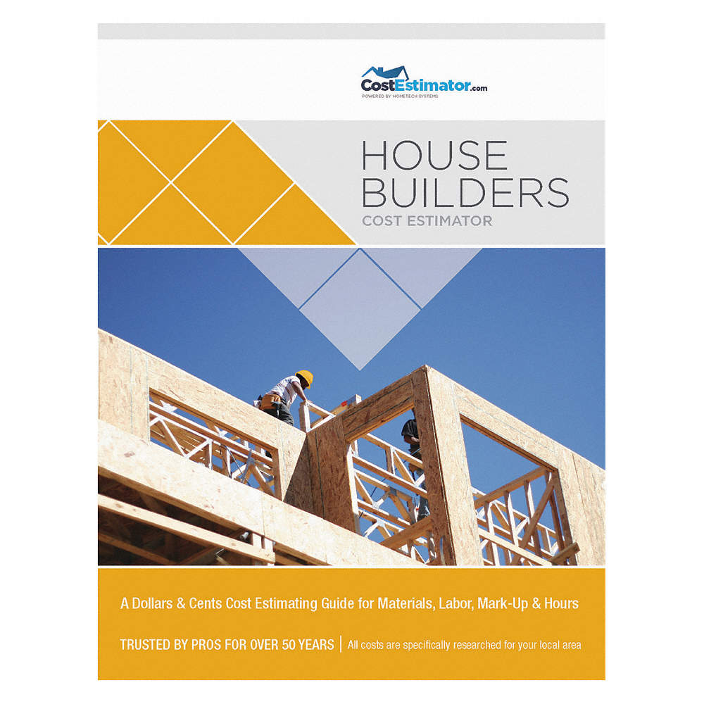 Cost Estimating Book, Residential Construction, English, LA, Shreveport and  Vicinity, Paperback