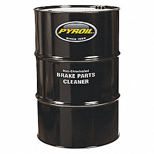 Brake Parts Cleaner, 54 gal., Drum
