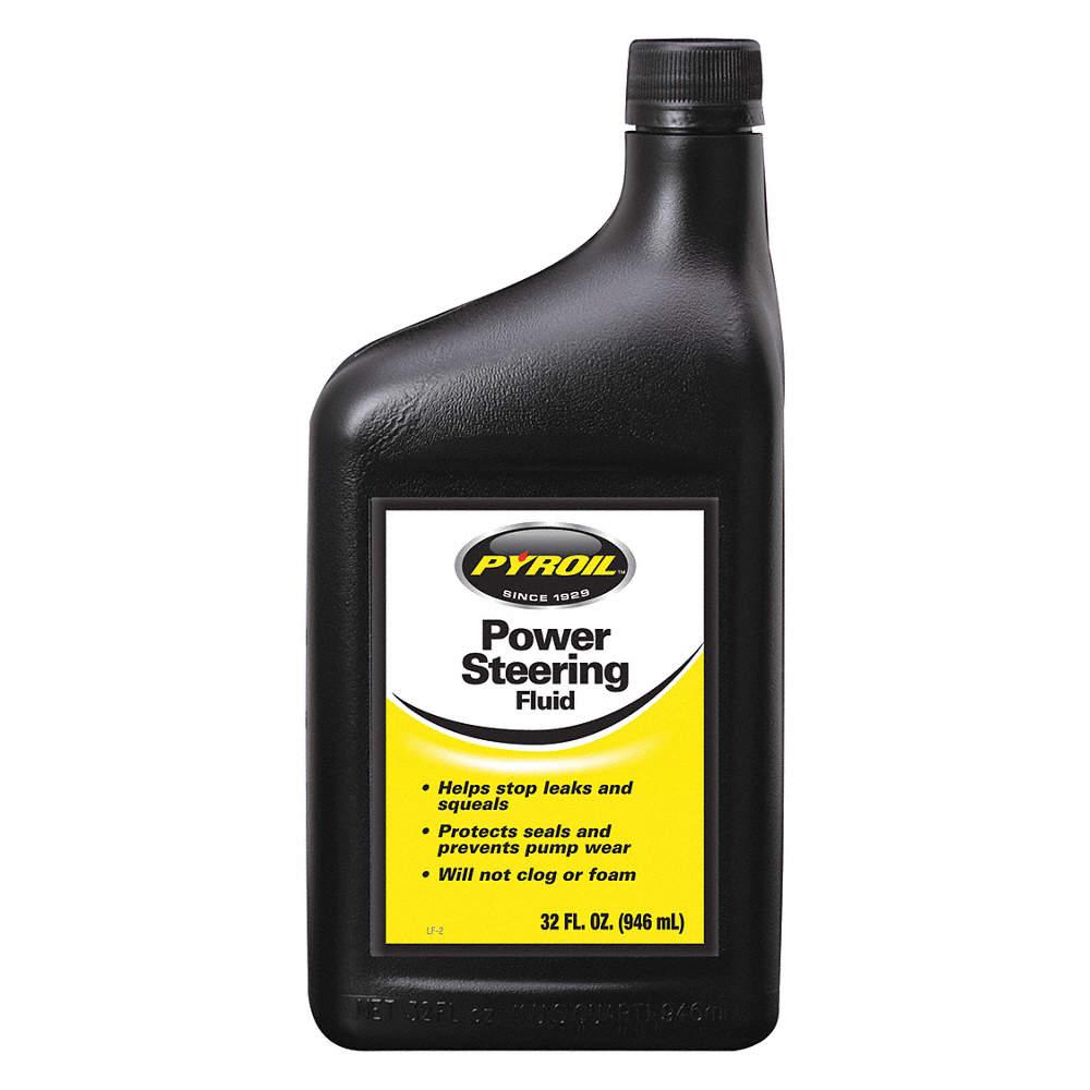 1 qt  Bottle Power Steering Fluid, Amber