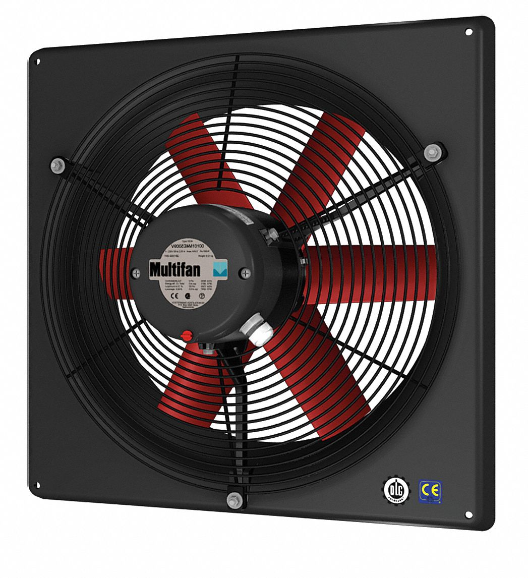 "25 1/2 in"" x 25 1/2 in"" 120V ACV Corrosion Resistant, Medium Performance 1-Phase Exhaust Fan"