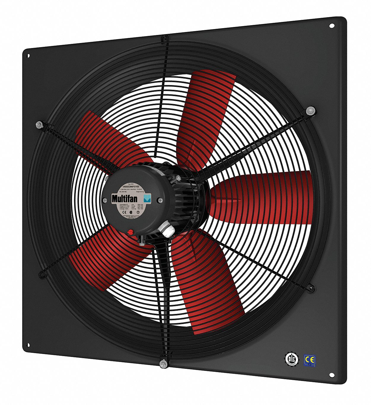 "30 1/2 in"" x 30 1/2 in"" 120V ACV Corrosion Resistant, Medium Performance 1-Phase Exhaust Fan"