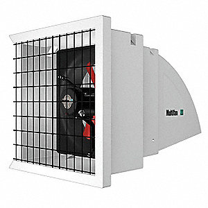 Exhaust Fan,12 In,1322 CFM,120V