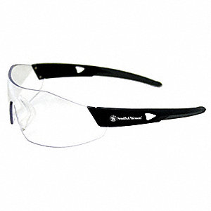 Smith & Wesson® 44 Magnum Anti-Fog, Scratch-Resistant Safety Glasses, Clear Lens Color