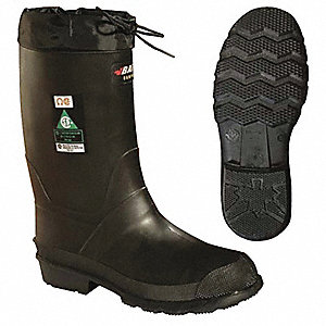 Pac Boots,Steel Toe,Oarprene,11In,8,PR
