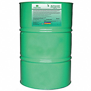 Biodegradable Power Lift Hydraulic Fluid, Hydraulic Oil, 55 gal. Container Size