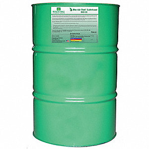 Biodegradable Air Tool Oil, Air Tool Oil, 55 gal. Container Size