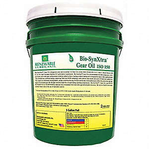 Biodegradable EP Gear Oil,5 Gal