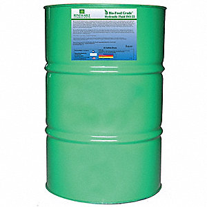 Food Grade Hydraulic Oil, Food Grade Hydraulic Oil, 55 gal. Container Size