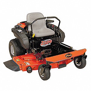 "22 HP Zero Turn Mower, 48"" Cutting Width, 1-1/2 to 4-1/2"" Cutting Height, 0"" Turning Radius"