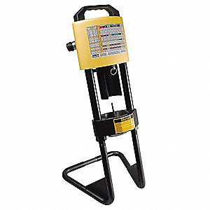 Portable Hydraulic Hose Crimping Machine, No Pump, External Hydraulic Pressure, Capacity: 30 tons