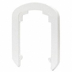 Dispenser Wall Plate,White,PK12