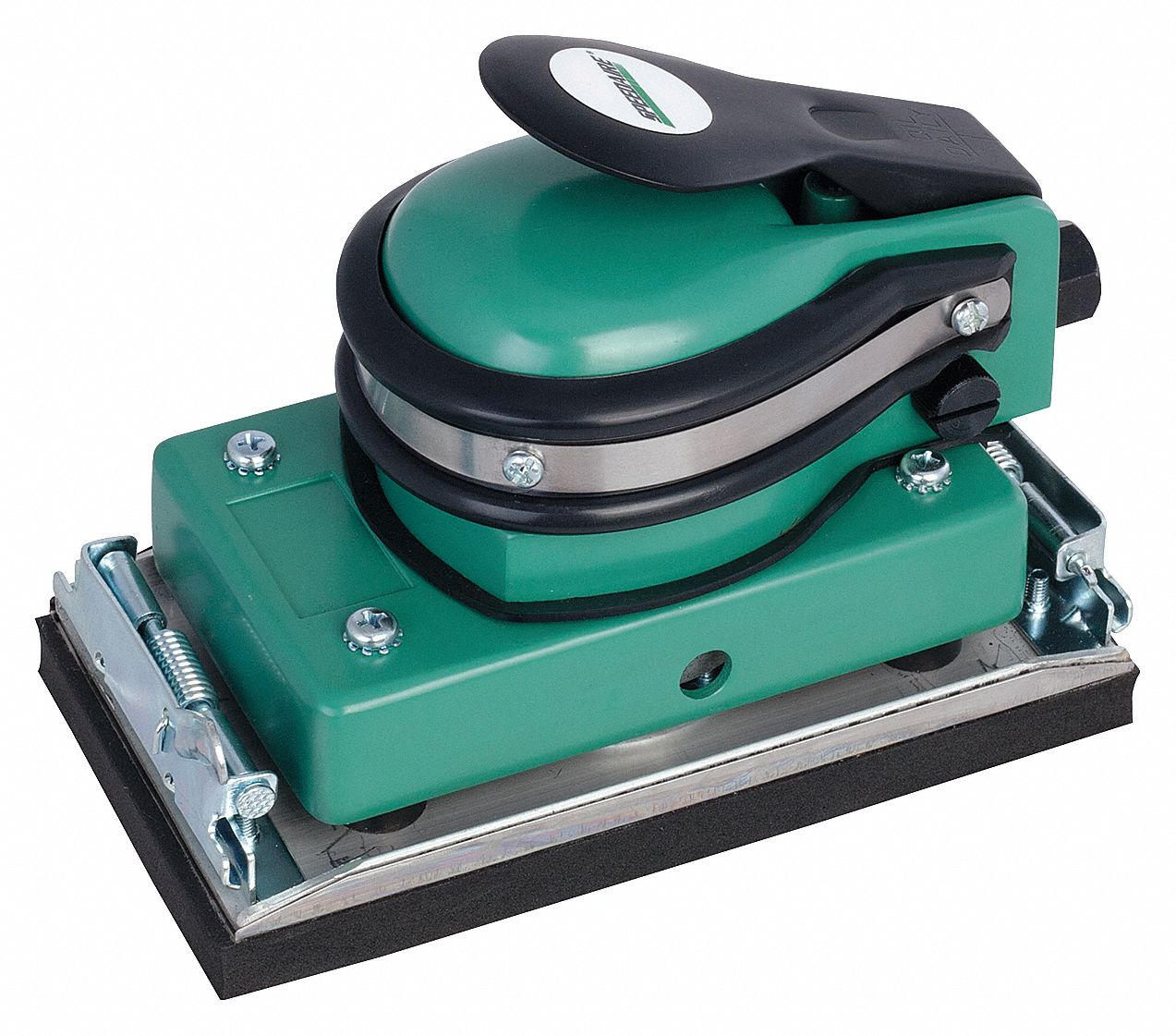 Air Random Orbital Sander, 3 5/8 in x 6 1/2 in Foam Rubber, 5/32 in Orbit Dia., Non-Vacuum, 0.3 hp H