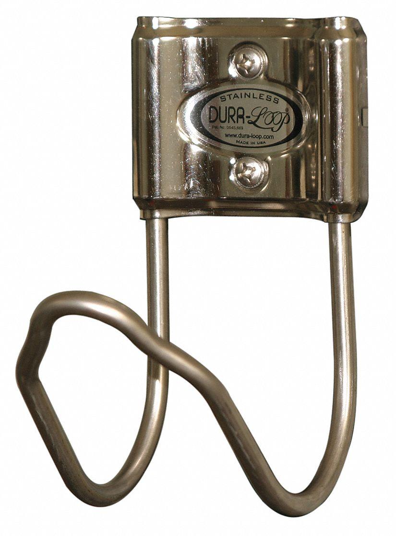 Accu-Brand Hose Hanger (Stainless Steel, 3 1/2 in. Diameter) Hose Reel, Hose Cart, Hose Holder, Hose Butler, Hose Hider, Hose Pot, Hose Stand, Hose Hanger
