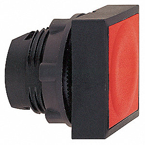 Plastic Push Button Operator, Type of Operator: Flush Button, Size: 22mm, Action: Momentary Push