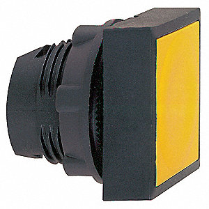 Plastic Push Button Operator, Type of Operator: Flush Button, Size: 22mm, Action: Maintained Push