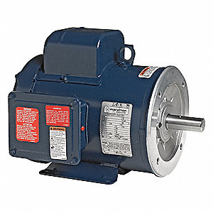 1-1/2 HP Pressure Washer Motor, Capacitor-Start, 3450 Nameplate RPM, 115/208-230 Voltage, 56C Frame