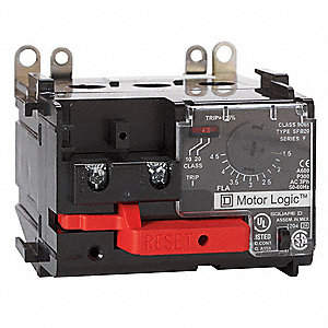 Square d overload relay 6 to 18a class 10 20 3p 21am84 for Square d motor logic