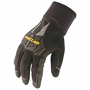 Cold Protection Gloves,Black,XL,PR
