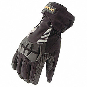 Cold Protection Gloves,Black,L,PR
