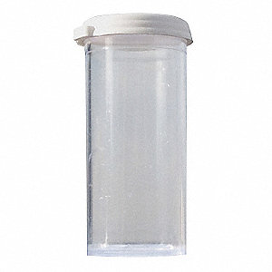 Polystyrene Vial with Cap 10PK