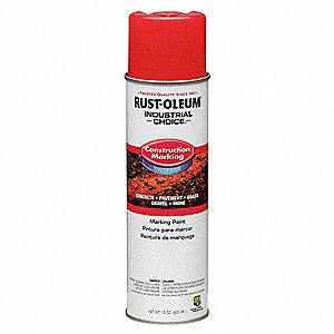 Construction Markng Paint,15 oz.,Fl Orng