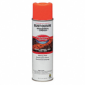 Marking Paint,15 oz.,Fl Red Orng