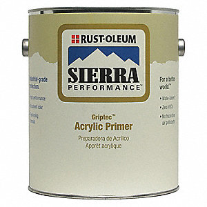 1 gal. Primer Covers 180 to 545 sq. ft./gal., Gray
