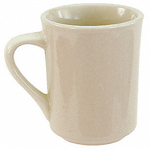 Mug,Bone White,8-1/2 oz.,PK36