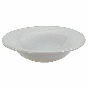 Grapefruit Bowl,White,11-1/2 oz.,PK36