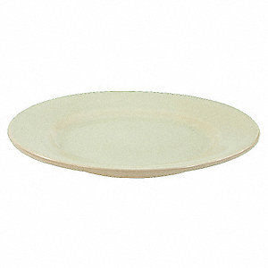 Plate,12 In.,Bone White,PK12