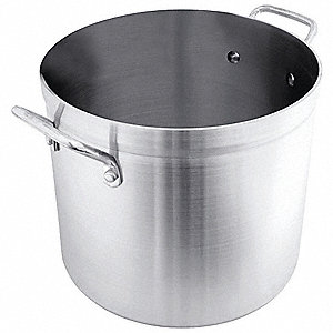 Heavy Duty Stock Pot,20 qt,Aluminum