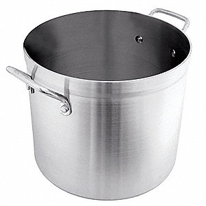 Stock Pot,12 qt,Aluminum