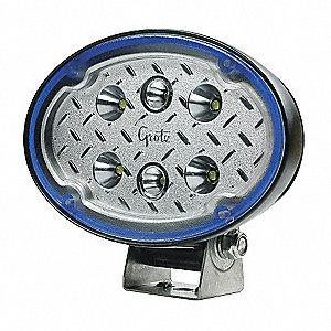 LAMP WORK LED OVAL FLOOD MULTIVOLT
