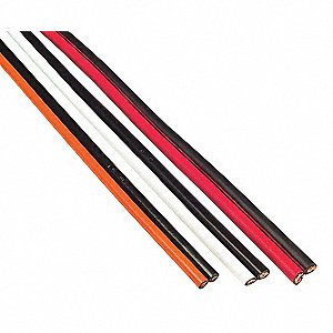 CABLE BOOSTER BONDED BLK/RED