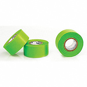 "Label Tape,Paper,Green,1"",PK3"
