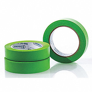 "Label Tape, 40 yd. x 1"", Green, 6.30 mil, Package Quantity 3"