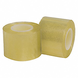 "Label Tape, 36 yd. x 1-1/2"", Clear, 1.8 mil, Package Quantity 2"