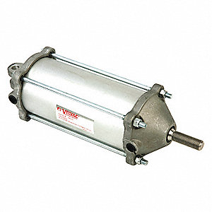 "3-1/2"" Bore Dia. with 8.68"" Stroke Aluminum , Clevis Mounted Air Cylinder"