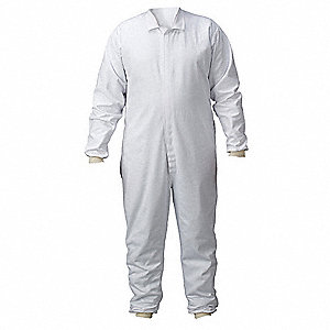 Lab Coverall,Chest Sz 60,58x30,White