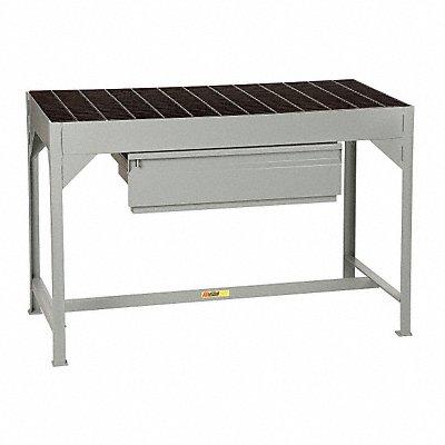 21E652 - Welders Table w/Drawer 34Hx51Wx24D