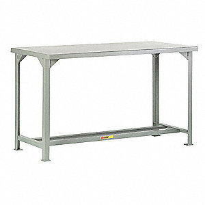 "Workbench, 84"" Width, 36"" Depth  Steel Work Surface Material"