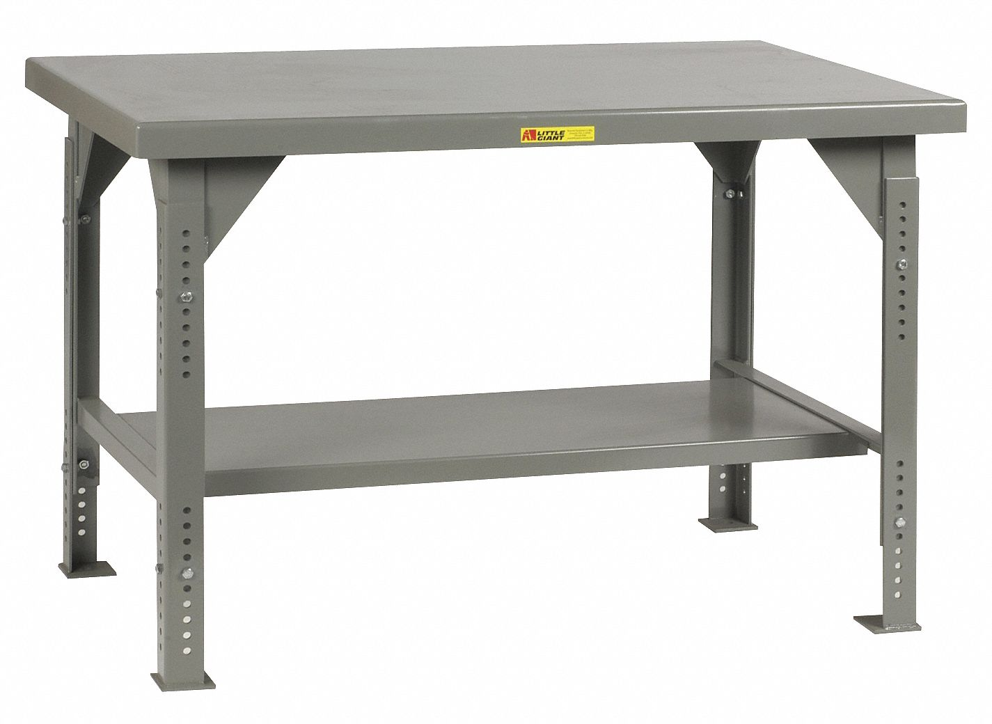 Fabulous Bolted Workbench Steel 30 Depth 28 To 37 Height 60 Width 10 000 Lb Load Capacity Short Links Chair Design For Home Short Linksinfo