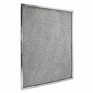 Aluminum Filter,  For Use With Grainger Item Number 5AU56,  Fits Brand Dayton