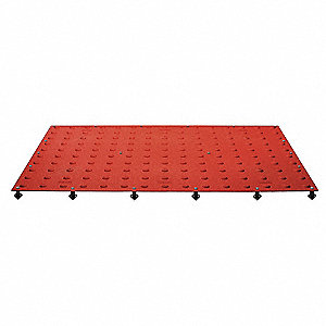 ADA Pad,Brick Red,3 ft. x 2 ft.